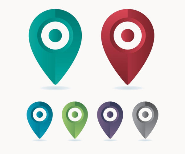 Location Vector Icons