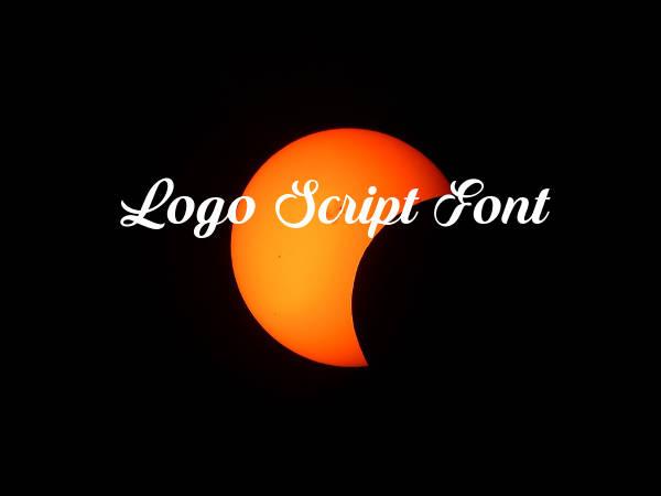 Logo Script Font