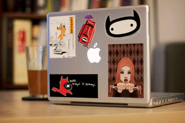 Mac Decoration Sticker