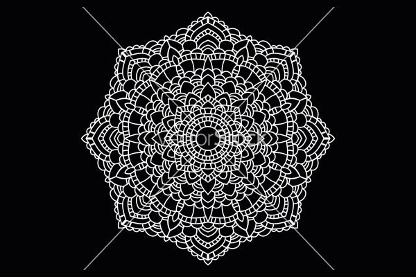 Mandala Lace Pattern Design