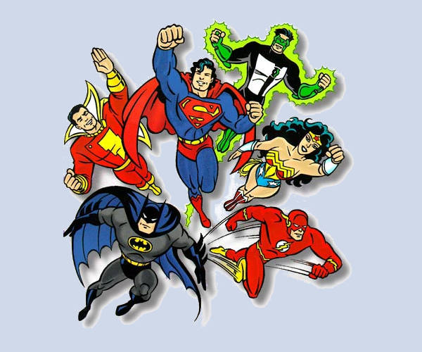Marvel Superhero Clip Art