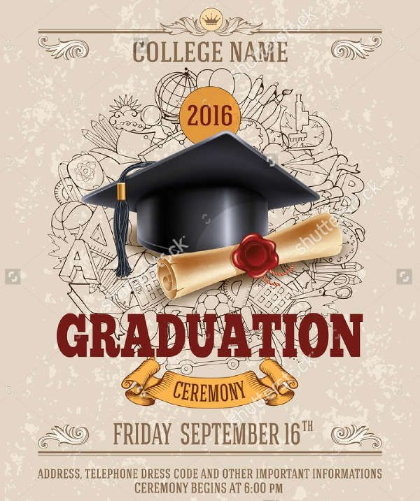 Masters Graduation Invitation Wording