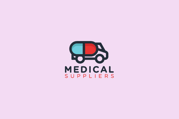 Medical Truck Pharmacy Logo
