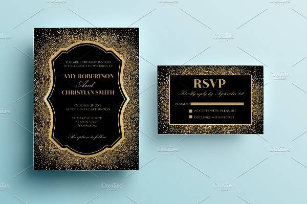 Mermaid Sparkle Invitation