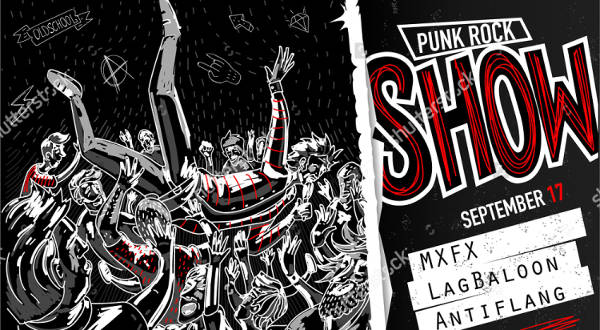 Metal Band Poster