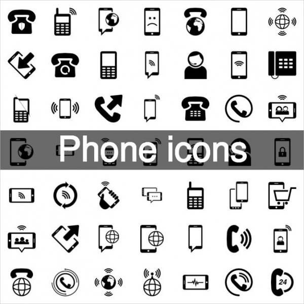 Mobile Phone Icon Pack
