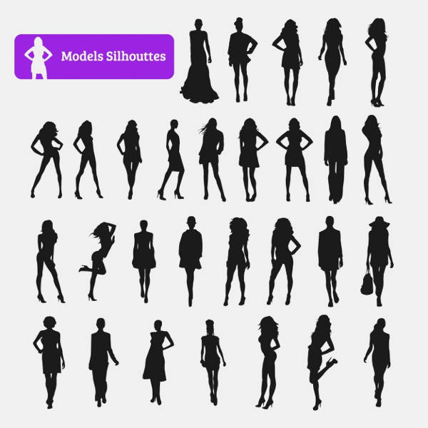 Model Silhouettes Collection