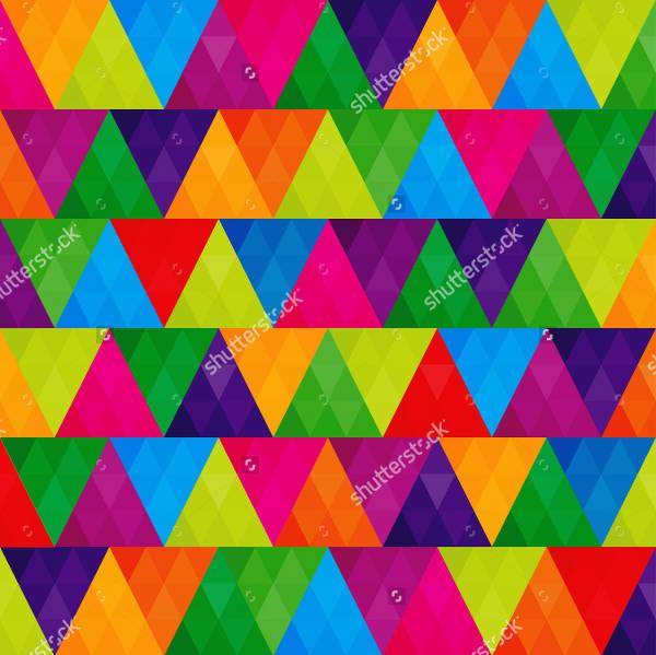 Modern Rainbow Pattern