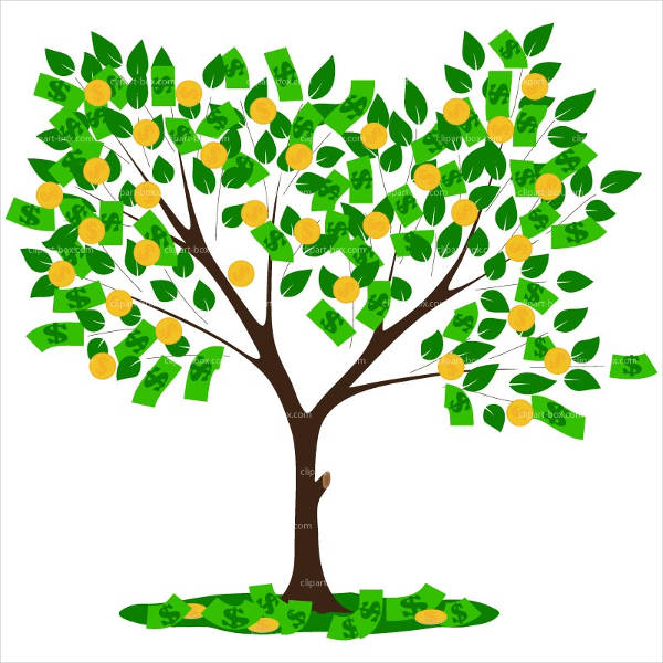 Money Tree Clipart