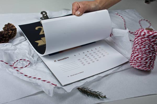 Monthly Calendar Graphic Design