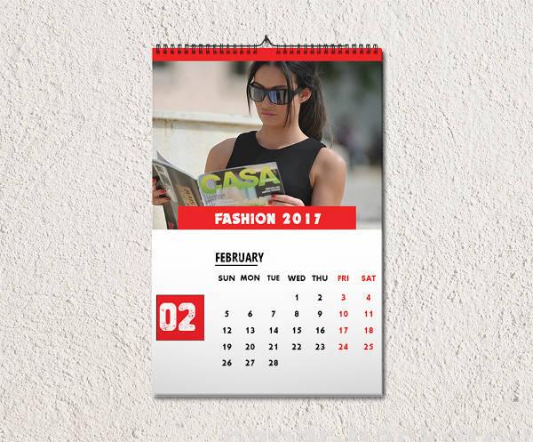 Monthly Fashion Calendar