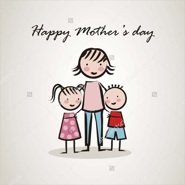 Mothers Day Cartoon Image