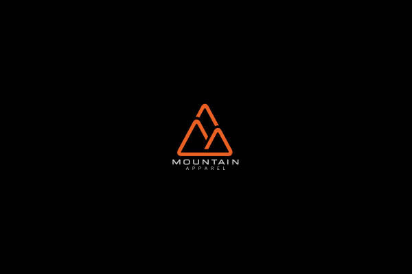 Mountain Outline Logo