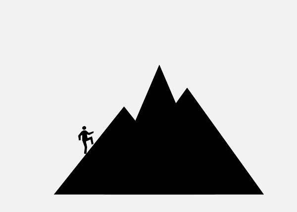 Mountain Silhouette Clip Art