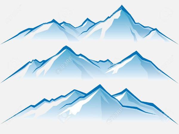Mountain Vector Clipart