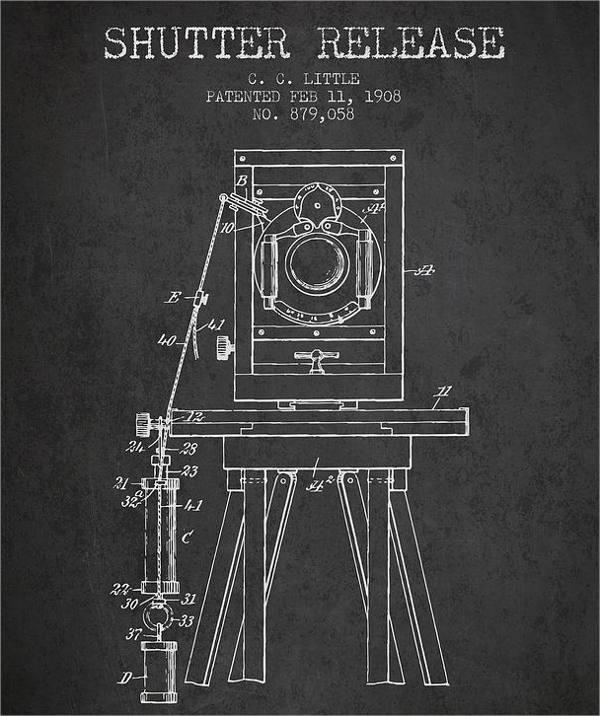 Movie Camera Drawing