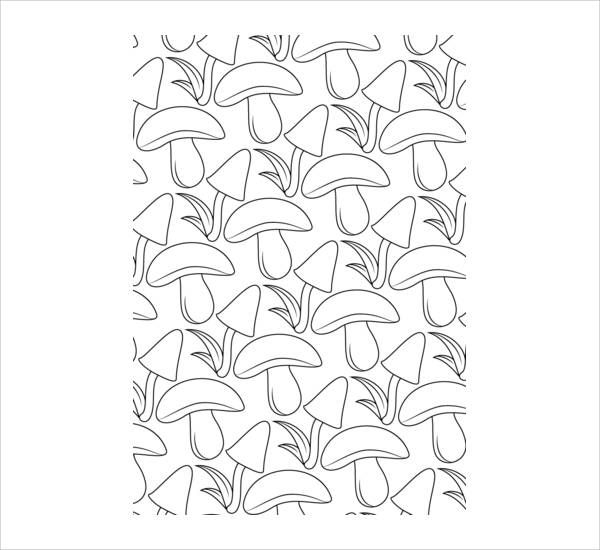 9 Pattern Coloring Pages Jpg Ai Illustrator Download