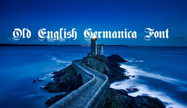 old english germanica font