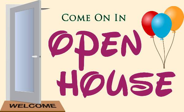 Open House Clip Art