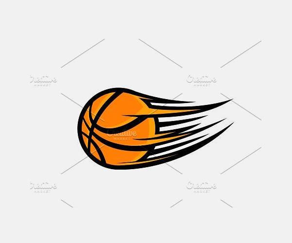 Orang Basketball Vector