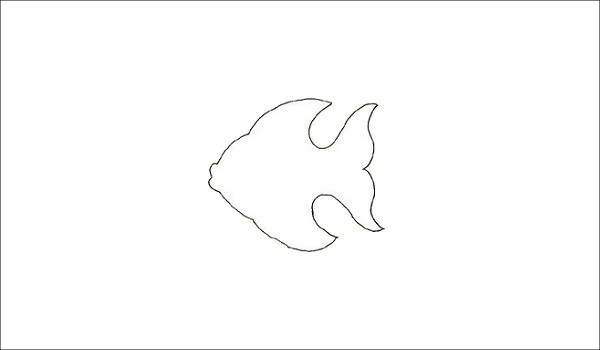 Outline Fish Drawing