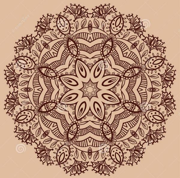 Paisley Mandala Design