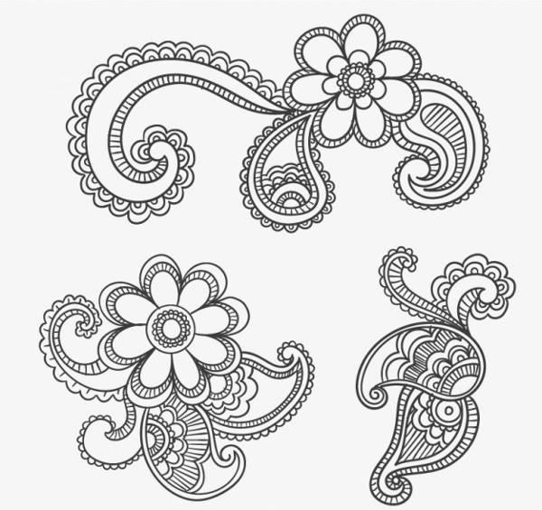 Paisley Ornamental Design