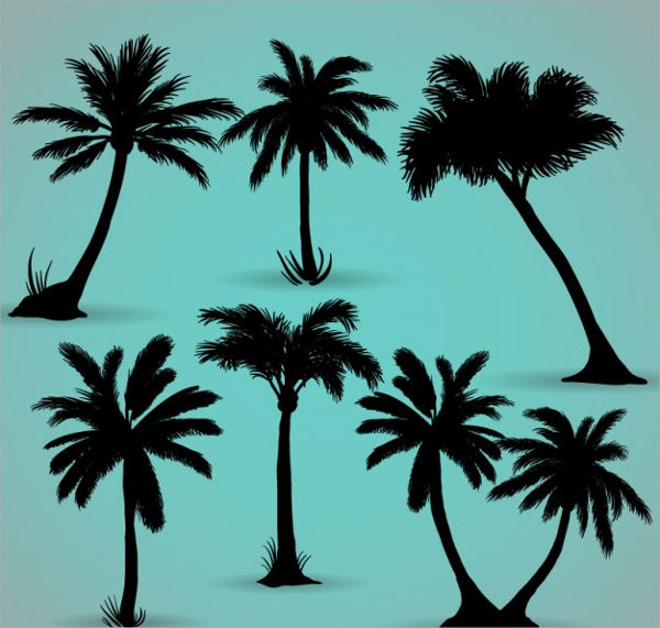 Palm Tree Silhouette Free Download