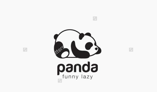 Panda Bear Logo Design