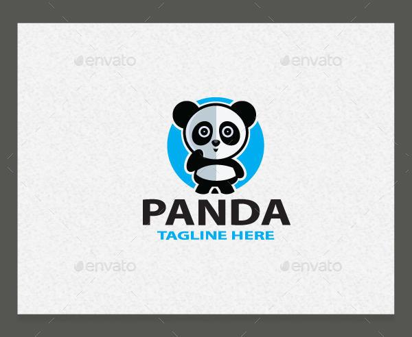 Panda Logo Template