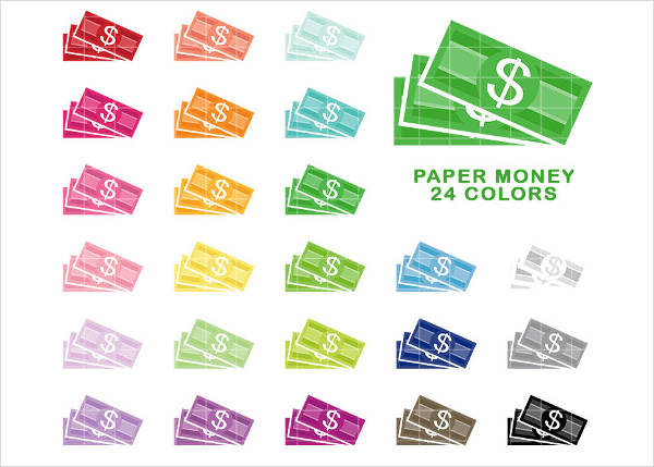 Paper Money Clipart