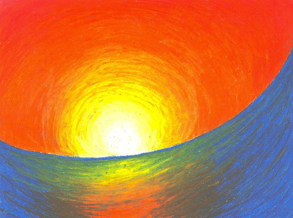 pastel painting | Magical Sunset Pastel Painting sunset ... |Pastel Drawings Of Sunsets