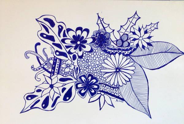 Pen Doodle Drawing