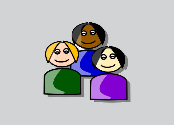 People Cartoon Clipart