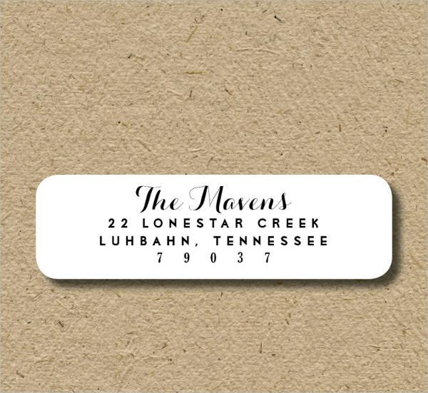 Personalized Address Label