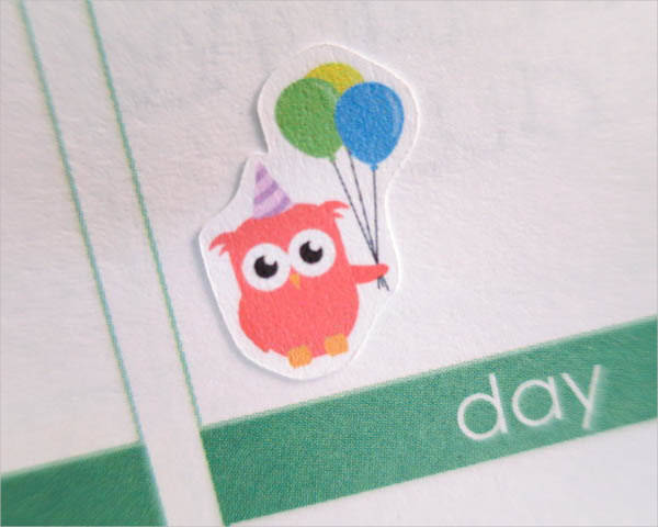 Personalized Birthday Sticker