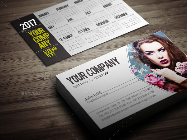 Personalized Business Calendar