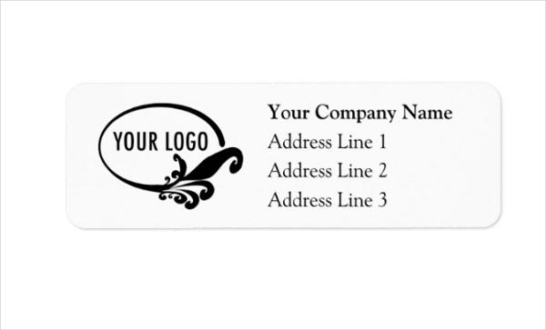 Personalized Business Return Address Label