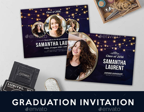 Personalized Graduation Invitation