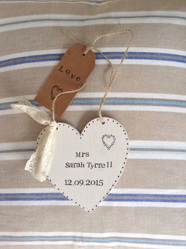 Personalized Hanging Gift Tag