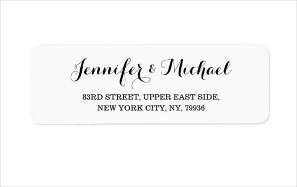 Personalized Return Address Label