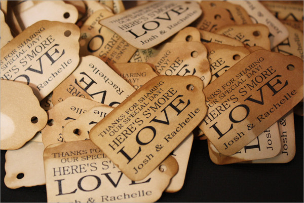 Personalized Thank You Tag Design