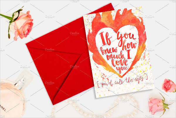 Personalized Valentines Card