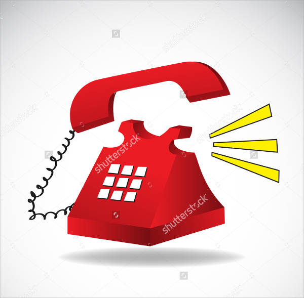 Phone Vector Clipart