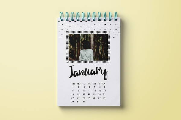 Photo Monthly Calendar