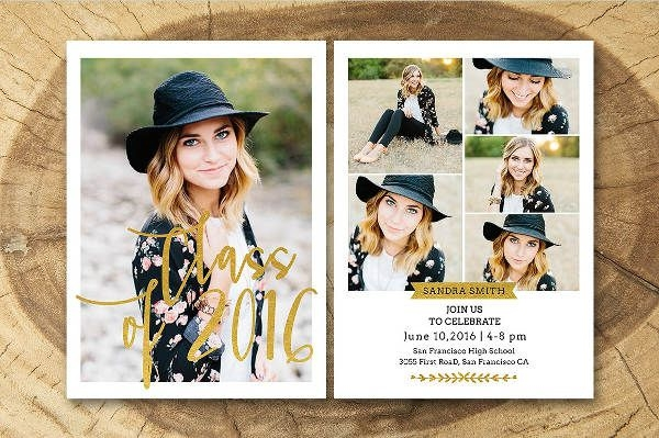 Photoshop Graduation Invitation Wording