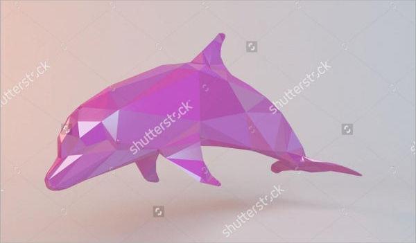 Pink Dolphin Logo