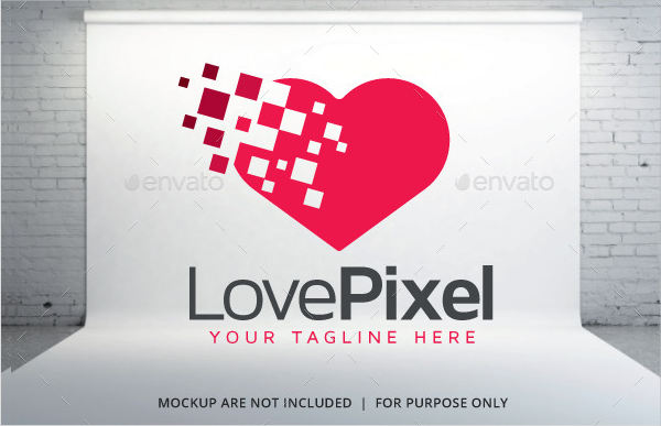 Pink Love Logo