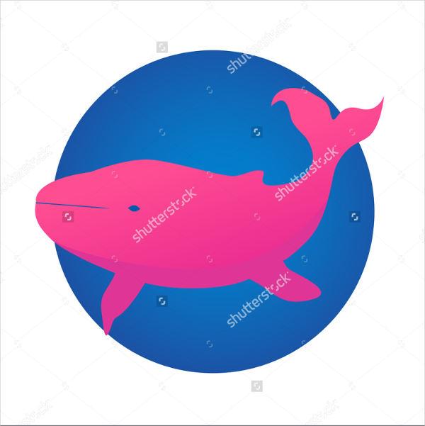 Pink Whale Logo