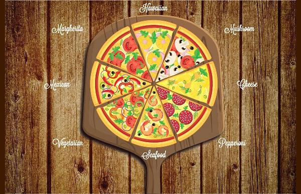 Pizza Slice Logo Design